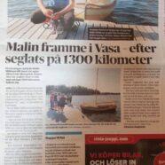 Malin framme i Vasa