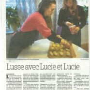 Lucie och Lucie i Sydöstran